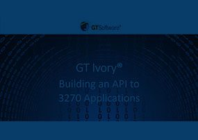 Ivory: Building an API to 3270 Applications