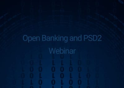 Open Banking and PSD2 Webinar