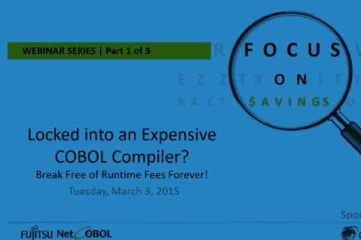 Locked into an Expensive COBOL Compiler?